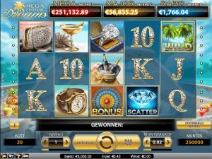 Nederlandse wint 2,7 miljoen euro in Nederlands online casino