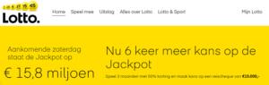 De Lotto zoekt de nieuwe multimiljonair van Hellevoetsluis