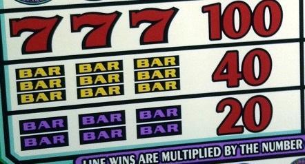 Speel jackpot via bijvoorbeeld een 777 of BAR spel in het casino