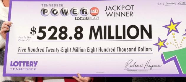 powerball record grootste loterij ooit