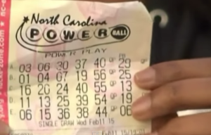powerball winnend lot